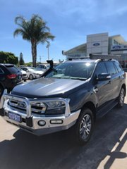 2015 Ford Everest UA Trend Metropolitan Grey 6 Speed Sports Automatic SUV.