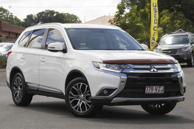 Used Mitsubishi Outlander ZJ MY14.5 LS 4WD Toowoomba, 2015 Mitsubishi Outlander ZJ MY14.5 LS 4WD White 6 Speed Sports Automatic Wagon
