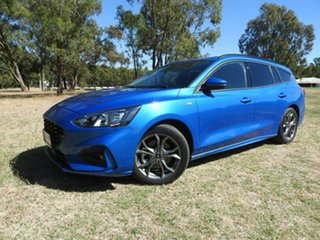 2019 Ford Focus ST Line Blue 8 Speed Automatic Wagon
