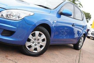 2009 Hyundai i30 FD MY10 SX Blue 4 Speed Automatic Hatchback.