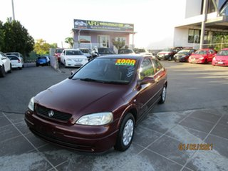 2002 Holden Astra TS City Red 5 Speed Manual Hatchback.