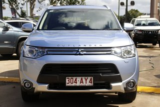 2014 Mitsubishi Outlander ZJ MY14.5 PHEV AWD Aspire Silver 1 Speed Automatic Wagon Hybrid