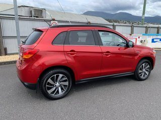 2014 Mitsubishi ASX XB MY15 XLS 2WD Red 6 Speed Constant Variable Wagon