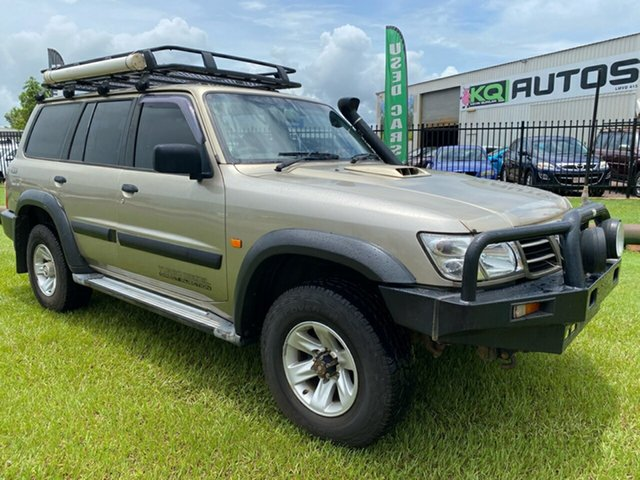 Used Nissan Patrol GU III MY2002 ST Berrimah, 2002 Nissan Patrol GU III MY2002 ST Gold 5 Speed Manual Wagon