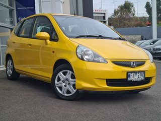 2007 Honda Jazz GLi Yellow Automatic Sedan.