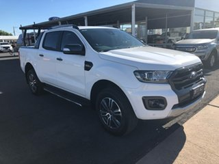 2020 Ford Ranger PX MkIII 2020.25MY Wildtrak Arctic White 6 Speed Sports Automatic.