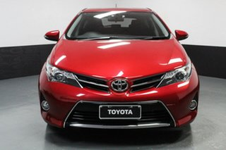 2014 Toyota Corolla ZRE182R Ascent Sport S-CVT Maroon 7 Speed Constant Variable Hatchback.