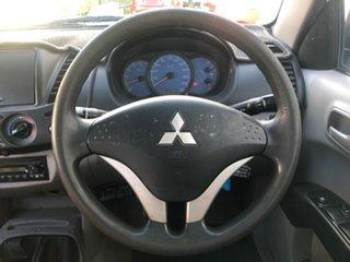 2009 Mitsubishi Triton ML MY09 GLX (4x4) White 5 Speed Manual 4x4 Cab Chassis