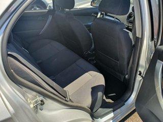 2012 Holden Barina TK MY11 Silver 5 Speed Manual Sedan