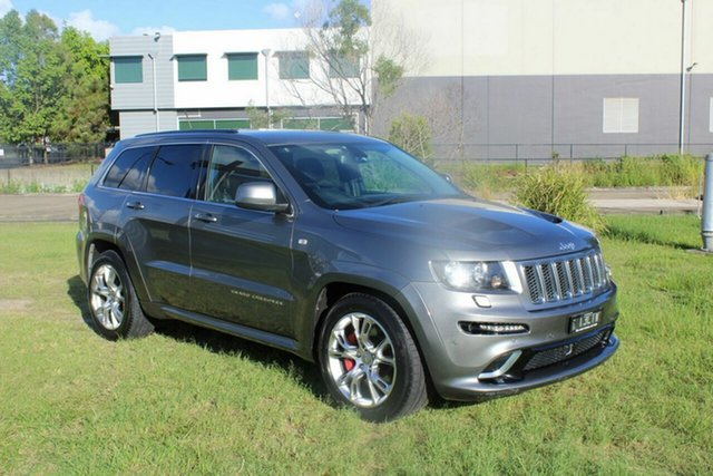 Used Jeep Grand Cherokee WK MY2013 SRT-8 Ormeau, 2013 Jeep Grand Cherokee WK MY2013 SRT-8 Grey 5 Speed Sports Automatic Wagon