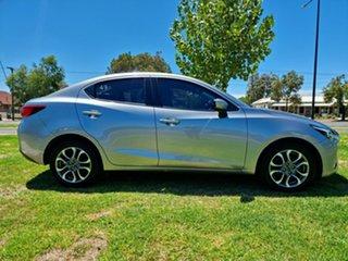 2017 Mazda 2 DL2SAA GT SKYACTIV-Drive Silver 6 Speed Sports Automatic Sedan.