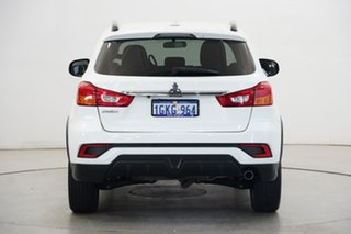 2017 Mitsubishi ASX XC MY18 LS 2WD White 1 Speed Constant Variable Wagon