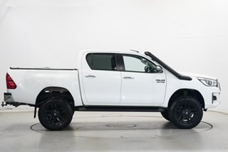 2019 Toyota Hilux GUN126R SR5 Double Cab White 6 Speed Sports Automatic Utility