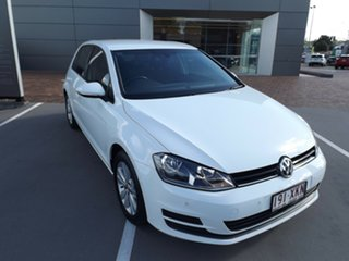 2017 Volkswagen Golf VII MY17 92TSI DSG Comfortline White 7 Speed Sports Automatic Dual Clutch.