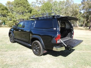 2017 Toyota Hilux SR5 Black 6 Speed Automatic Utility