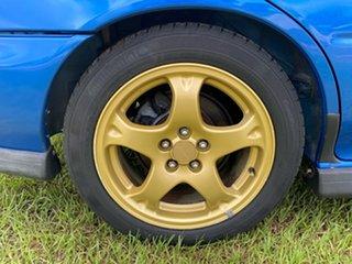 1998 Subaru Impreza N MY98 WRX AWD Blue 5 Speed Manual Sedan