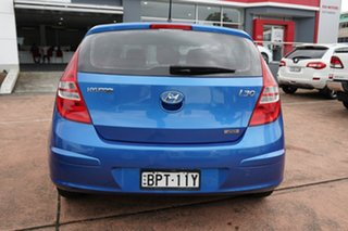 2009 Hyundai i30 FD MY10 SX Blue 4 Speed Automatic Hatchback