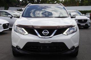 2015 Nissan Qashqai J11 TL White 1 Speed Constant Variable Wagon.