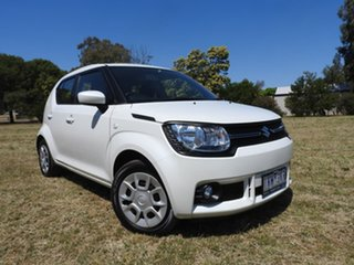 2018 Suzuki Ignis MF GL White 1 Speed Constant Variable Hatchback.