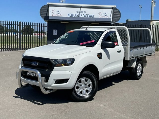 Used Ford Ranger PX MkII XL Newcastle, 2017 Ford Ranger PX MkII XL White 6 Speed Sports Automatic Cab Chassis