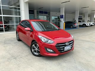 2016 Hyundai i30 GD4 Series II MY17 Active X Brilliant Red 6 Speed Sports Automatic Hatchback.
