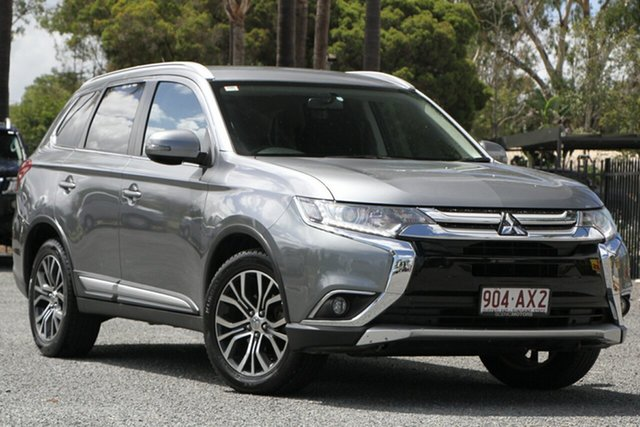 Used Mitsubishi Outlander ZK MY16 LS 4WD Beaudesert, 2015 Mitsubishi Outlander ZK MY16 LS 4WD Titanium 6 Speed Constant Variable Wagon