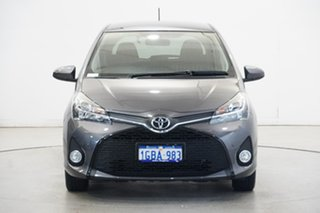 2016 Toyota Yaris NCP131R ZR Grey 4 Speed Automatic Hatchback.