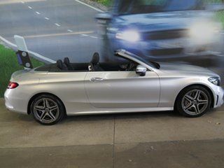 2019 Mercedes-Benz C300 205 MY19 Silver 9 Speed Automatic G-Tronic Cabriolet.