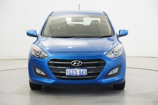 2017 Hyundai i30 GD4 Series II MY17 Active Marina Blue 6 Speed Sports Automatic Hatchback.