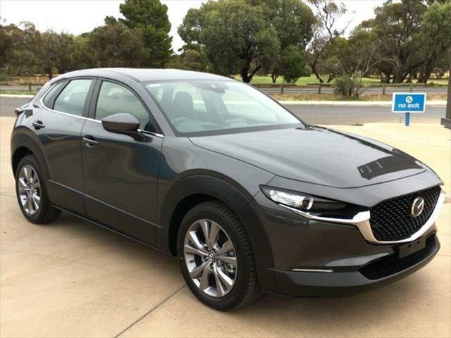 New Mazda CX-30 DM2W7A G20 SKYACTIV-Drive Evolve Berri, 2020 Mazda CX-30 DM2W7A G20 SKYACTIV-Drive Evolve Machine Grey 6 Speed Sports Automatic Wagon