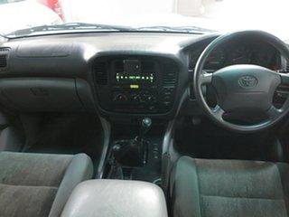2001 Toyota Landcruiser HZJ105R GXL White 5 Speed Manual Wagon