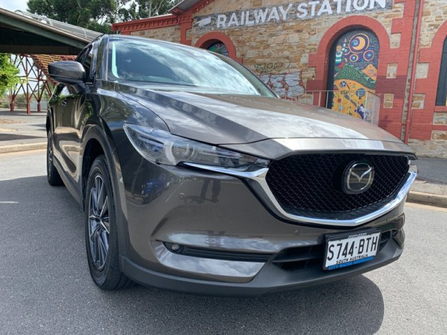 Used Mazda CX-5 KF4WLA Akera SKYACTIV-Drive i-ACTIV AWD Cheltenham, 2017 Mazda CX-5 KF4WLA Akera SKYACTIV-Drive i-ACTIV AWD Titanium Flash 6 Speed Sports Automatic