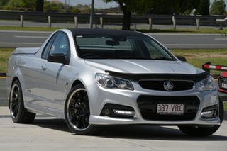 2013 Holden Ute VF MY14 SS V Ute Redline Silver 6 Speed Sports Automatic Utility.