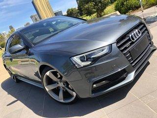 2014 Audi A5 8T MY14 Sportback S Tronic Quattro Grey 7 Speed Sports Automatic Dual Clutch Hatchback