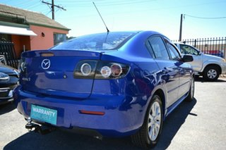 2006 Mazda 3 BK Maxx Sport Blue 5 Speed Manual Sedan