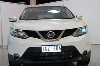 2016 Nissan Qashqai J11 TI White 1 Speed Constant Variable Wagon.
