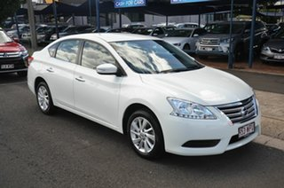 2016 Nissan Pulsar B17 Series 2 ST White Continuous Variable Sedan
