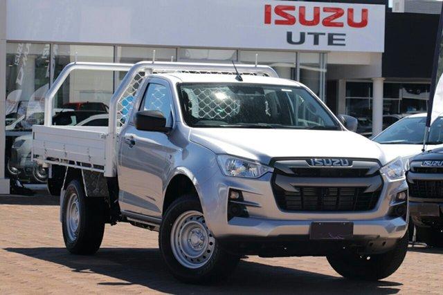 New Isuzu D-MAX TF MY21 SX (4x2) Wangaratta, 2020 Isuzu D-MAX TF MY21 SX (4x2) Mercury Silver 6 Speed Auto Seq Sportshift Cab Chassis
