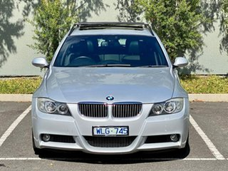 2008 BMW 3 Series E91 MY08 323i Touring Steptronic Silver 6 Speed Sports Automatic Wagon.