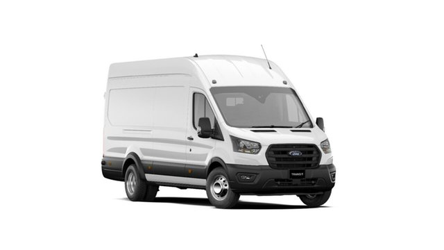 New Ford Transit VO 2020.50MY 430e High Roof Townsville, 2020 Ford Transit VO 2020.50MY 430e High Roof Frozen White 10 Speed Automatic Van