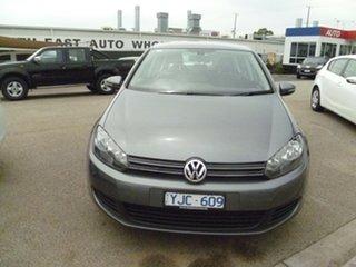 2011 Volkswagen Golf VI MY11 118TSI DSG Comfortline Grey 7 Speed Sports Automatic Dual Clutch.