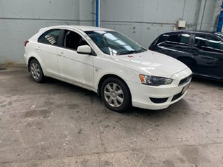 2012 Mitsubishi Lancer CJ MY12 ES Sportback White 6 Speed Constant Variable Hatchback