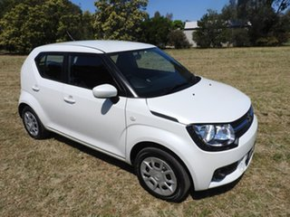 2018 Suzuki Ignis MF GL White 1 Speed Constant Variable Hatchback