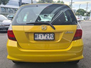 2007 Honda Jazz GLi Yellow Automatic Sedan