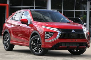 2020 Mitsubishi Eclipse Cross YB MY21 Exceed 2WD Red Diamond 8 Speed Constant Variable Wagon.