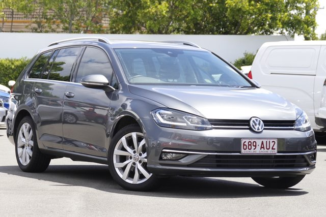 Used Volkswagen Golf 7.5 MY17 110TSI DSG Highline Mount Gravatt, 2017 Volkswagen Golf 7.5 MY17 110TSI DSG Highline Grey 7 Speed Sports Automatic Dual Clutch Wagon