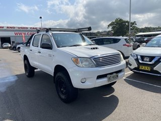 2007 Toyota Hilux KUN26R MY08 SR White 5 Speed Manual Utility.
