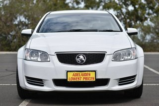 2012 Holden Commodore VE II MY12 Omega White 6 Speed Automatic Sedan.