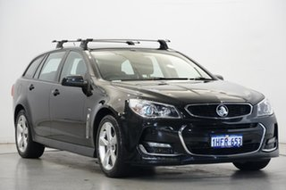 2015 Holden Commodore VF MY15 SV6 Sportwagon Black 6 Speed Sports Automatic Wagon
