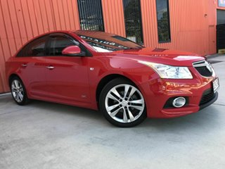 2014 Holden Cruze JH Series II MY14 SRi Z Series Red 6 Speed Manual Sedan.